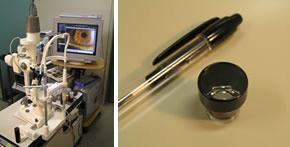 1.細隙灯顕微鏡検査(隅角鏡検査も含む)